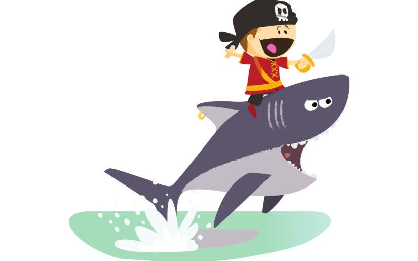 Tischsprüche für den Kindergarten - Der Pirat