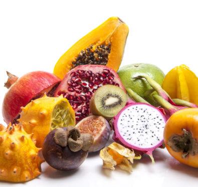 Kaki, Guave und Drachenfrucht. Keine Scheu vor den Exoten.